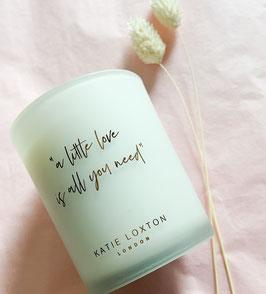 Duftkerze a little love is all you need