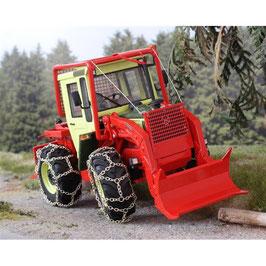 MB Trac 900 Turbo mit Forstausrüstung und Ketten