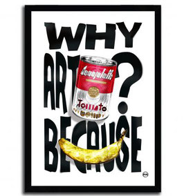 """ Why Art ? Because "" By Rubiant"