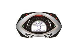 KOSO Digitales Multifunktions-Cockpit, RXF mit TFT Technologie, ABE