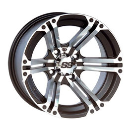 ITP SS212 12x7 4/137 4+3 Machined-black