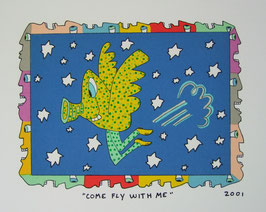 James Rizzi Come Fly With Me