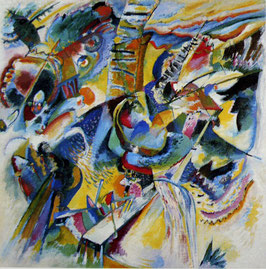 Wassily Kandinsky Improvisation Klamm