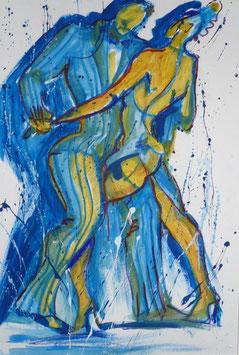 Ilena Biuguniyk Blaues Paar