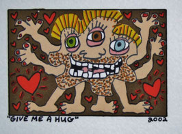 James Rizzi Give Me A Hug