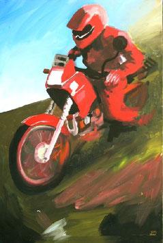 Oleg Kuvaev Motoradfahrer