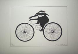 Antje Vogel Der Radfahrer