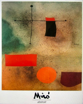 Joan Miro Abstrait