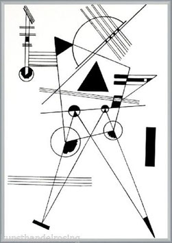 Wassily Kandinsky Study for black triangle