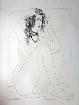 Pablo Picasso Femme nue
