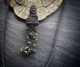 Moldavit Halskette