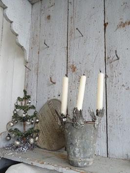 antiker Kerzenhalter BURG