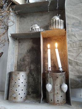 Antiker Pendelhalter silber WALNUSS