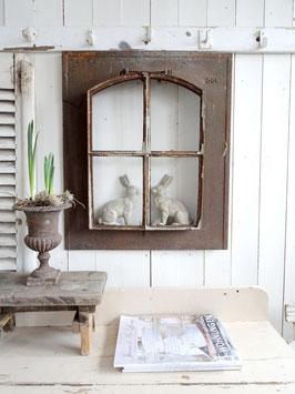 Antikes Dachlukenfenster Gußeisen