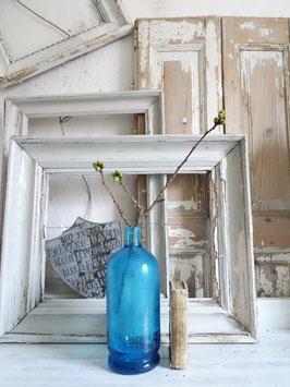 uralte franz. Sodaflasche / Vase? blau