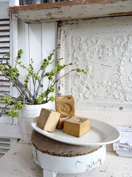 34cm uralte Platte aus Keramik - geniale Patina