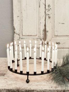 24er runder Kerzenständer von JDL - VORBESTELLUNG