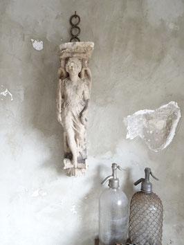 VERKAUFT Hie 31.01. ENGEL antikes Stuckelement Fassadenelement