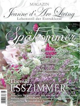 JDL Magazin 08/2013 ESSZIMMER