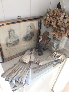 Messer&Gabel KE antikes Fischbesteck WELLNER
