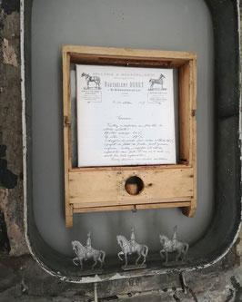 DURET französische Rechnung Leinwanddruck