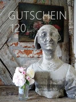 GUTSCHEIN 120,-- EURO