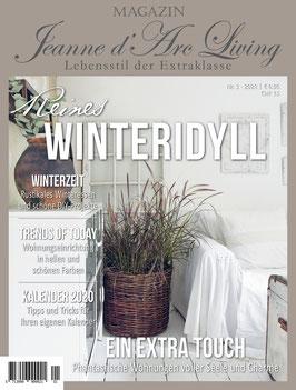 VORBESTELLUNG JDL Magazin 1/2020 WINTERIDYLL