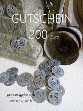 GUTSCHEIN 200,-- EURO
