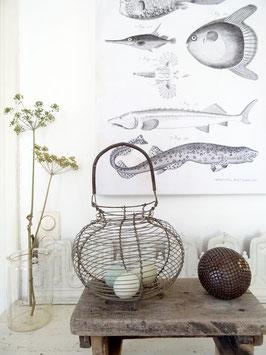 antiker GROSSER Eierkorb aus Frankreich