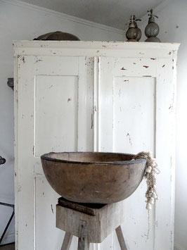 VERKAUFT Ull 20.11.   imposante antike Holzschüssel
