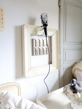 sehr alte Handlampe aus Frankreich
