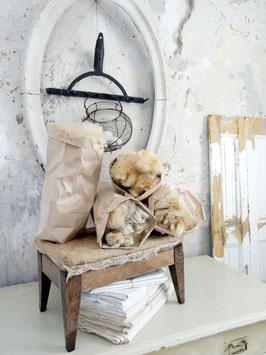 Schafwolle 150gr für die Deko