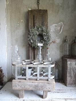 8er!!! antiker Flaschenträger aus Frankreich - Traumteil