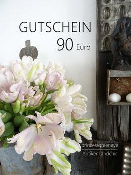 GUTSCHEIN 90,-- EURO