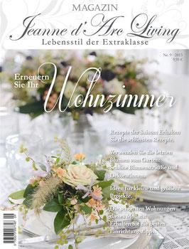 JDL Magazin 09/2013 WOHNZIMMER