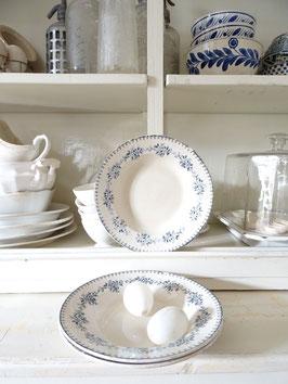 Teller franz Keramik Blaudekor Rose Gien