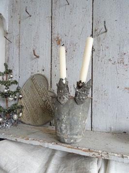 antiker Kerzenhalter BURG III