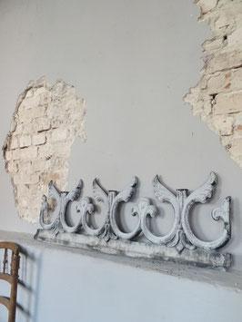 antikes franz Zinkfries 95cm 3-dimensional