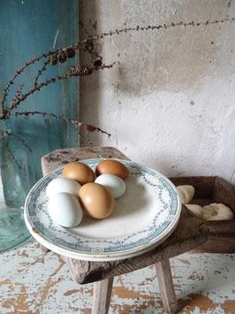 Essteller Keramik MOULIN DES LOUPES Blaudekor
