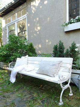 VERKAUFT Syl 01.07.   187cm restaurierte antike Parkbank - Traumteil
