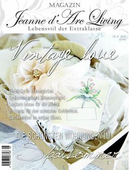 JDL Magazin 8/2016 VINTAGE LOVE