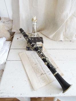 antike Klarinette MAHILLON
