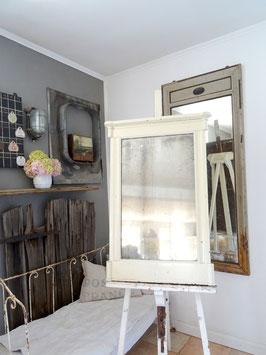 99cm Antiker Spiegel - grandiose Patina