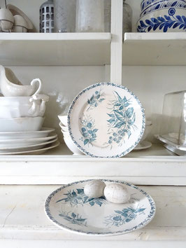 23cm Teller franz Keramik Blaudekor BADONVILLER