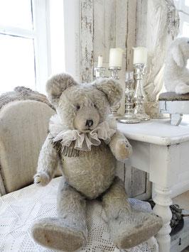 65cm uralter grauer Teddy Bär - DIEM
