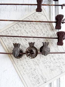 antiker Kerzenhalter DRP