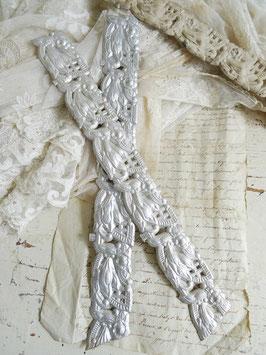 DRESDNER PAPPE antike Bordüre ROSEN 32 cm