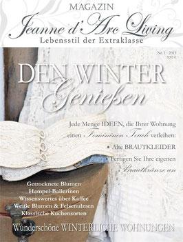 JDL Magazin DEN WINTER GENIESSEN (01) 2013