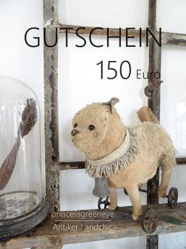 GUTSCHEIN 150,-- EURO