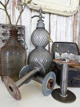sehr alte GROSSE Industriespulen Garnspulen